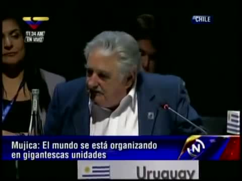 Discurso de Jos Pepe Mujica, Presidente de Uruguay, en la Cumbre de CELAC en Chile