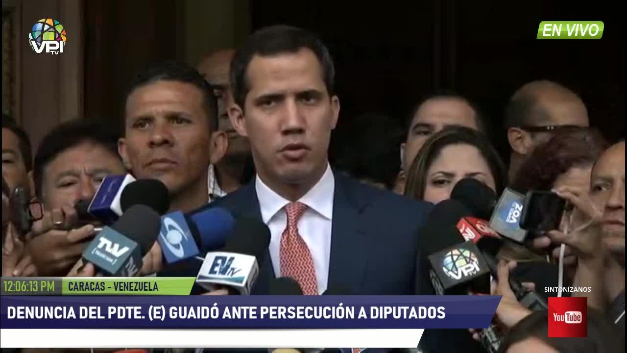 Caracas - Presidente (E) Guaid anunci prximas designaciones de ejecutivos y embajadores - VPItv