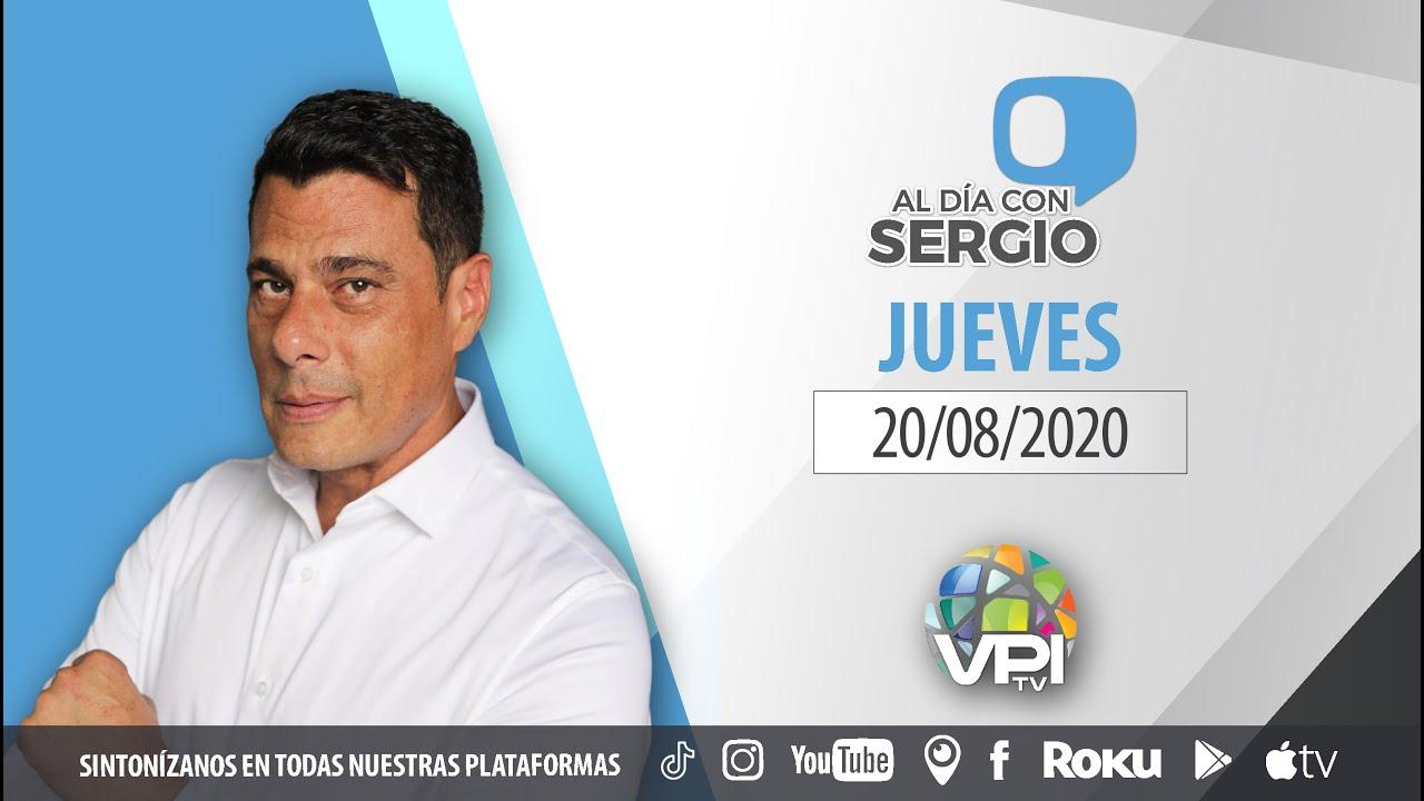 EN VIVO - Al Da con Sergio Novelli - Jueves 20 de Agosto